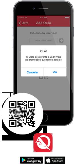 App QERO - Fidelização Grátis